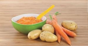 Bio Babynahrung Karotten und Kartoffel