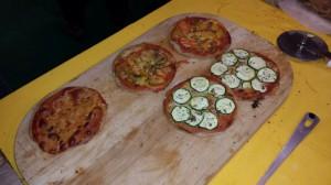 Vollkorn Pizzete des SGGF