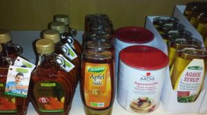 Süßungsmittel wie Agavendicksaft