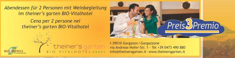 Weihnachtslotterie Pro Natura Brixen Preis 3