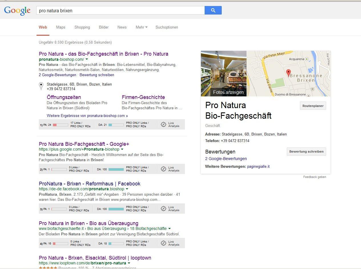 Google -Suche