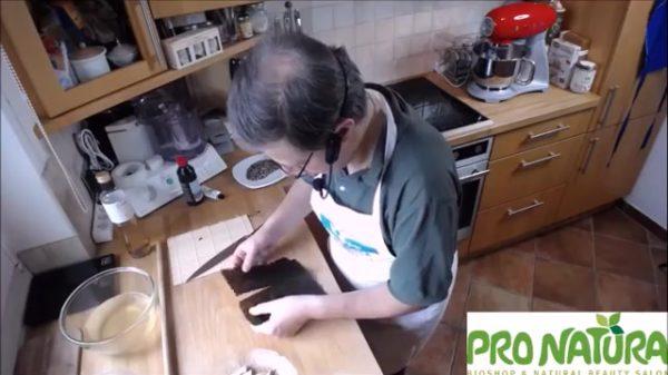 Sushi Nori Blatt-halbieren